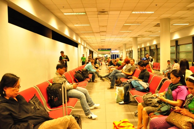 Waiting area in Naia 3