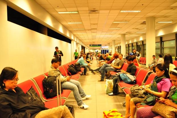 Waiting area in Naia 3