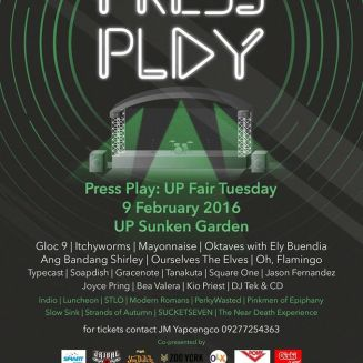 UP FAIR TUESDAY - PRESS PLAY